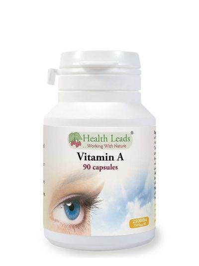 Health Leads VITAMIN A 7500 MCG X 90 CAPSULES