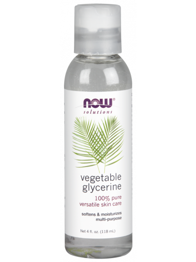 Now Foods 100% pure vegetable Glycerin 118 ml