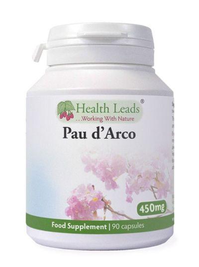 HEALTH LEADS PAU D'ARCO 450MG X 90 CAPSULES