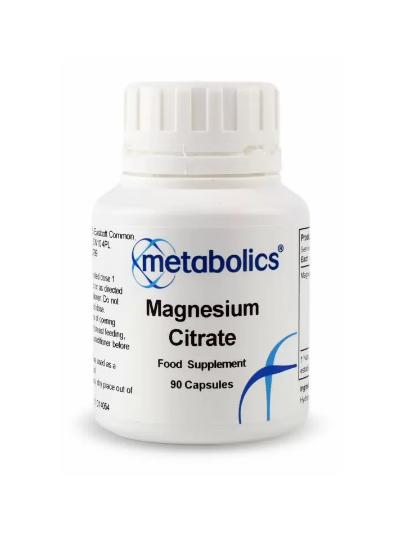 Metabolics Magnesium Citrate 90 CApsules