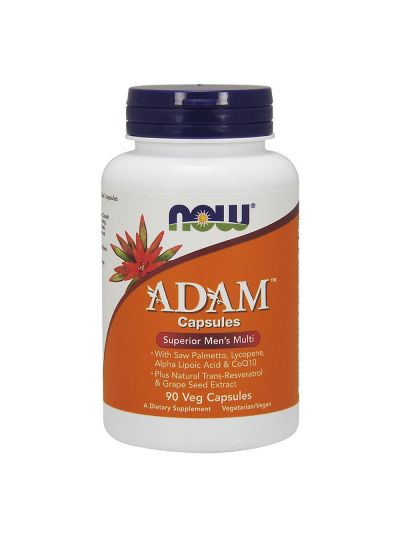 Now Foods Adam Superior Men's Multi 90 Veg Capsules