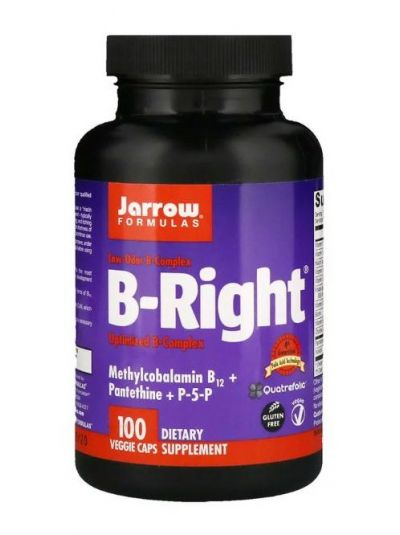 Jarrow Formulas B-Right 100 vegetarische Kapseln