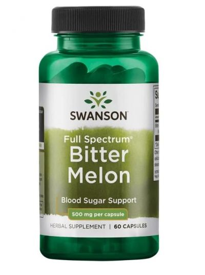 Swanson Premium- Full Spectrum Bitter Melon 500mg 60 Capsules