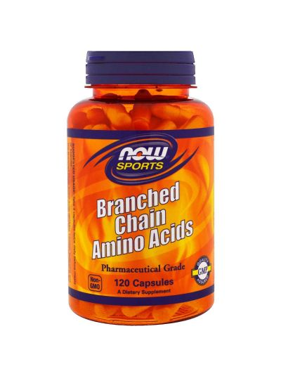 Now Foods Branched Chain Amino Acids 120 Capsules