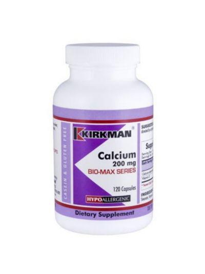 Calcium 200 mg W. vITAMIN D 120 CAPSULES - Hypoallergenic