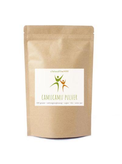 Vitalundfitmit100 Bio Camu Camu Pulver 100 g
