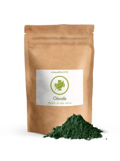 Vitalundfitmit100 organic Chlorella Powder 100 g