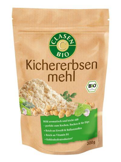 Clasen Bio Kichererbsenmehl vegan 300g