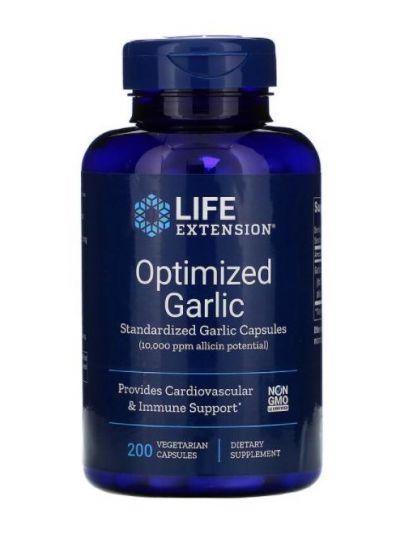 Life Extension Optimierter Knoblauch (10 mg Allicin) 200 vegetarische Kapseln