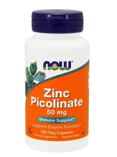 Now Foods Zink-Picolinat 50 mg 120 vegetarische Kapseln