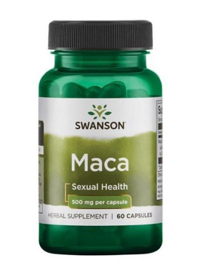 Swanson Maca Extrakt 500 mg 60 Kapseln
