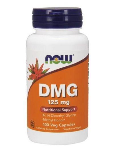 Now Foods DMG Dimethylglycin 125 mg 100 vegetarische Kapseln
