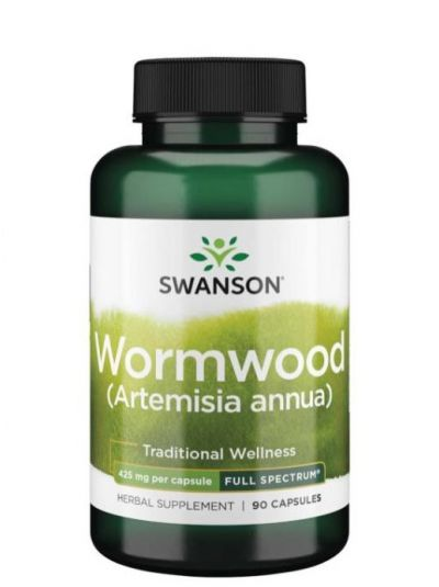 Swanson Wermutkraut Wormwood 425 mg 90 Kapseln