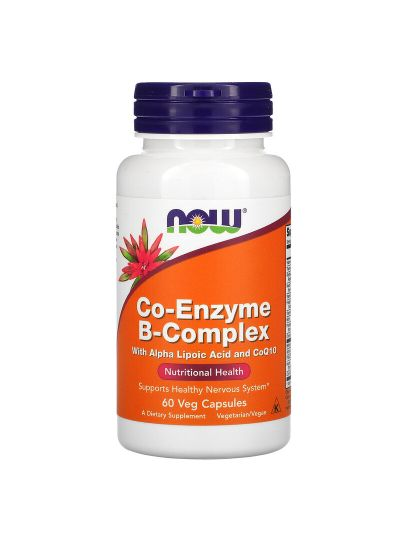 Now Foods, Co-Enzyme B-Complex, 60 Veg Capsules