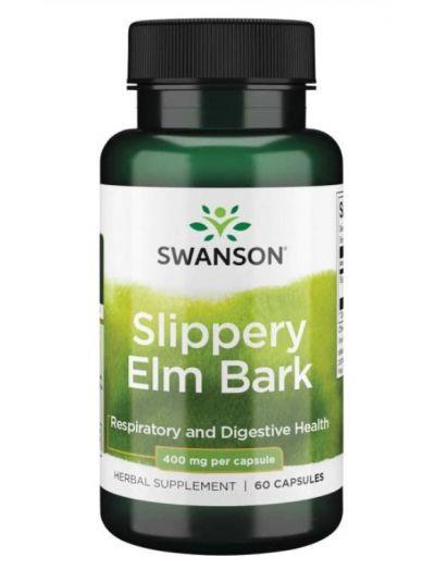 SWANSON SLIPPERY ELM 400 MG 60 capsules
