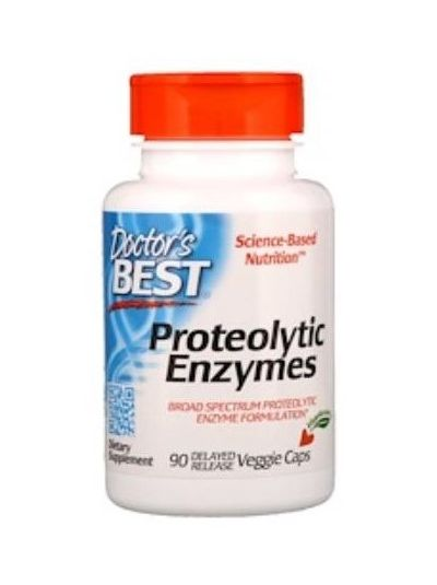Doctor's Best Proteolytic Enzymes 90 Delayed Release Veggie Caps