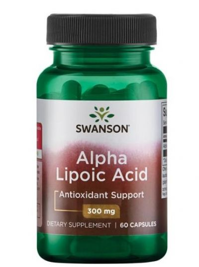 Swanson Alpha Liponsäure 300 mg 60 Kapseln