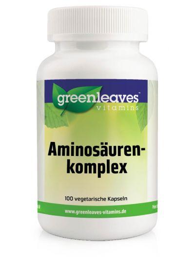 Green Leaves Vitamins AMINOSÄUREN-KOMPLEX 100 Kapseln