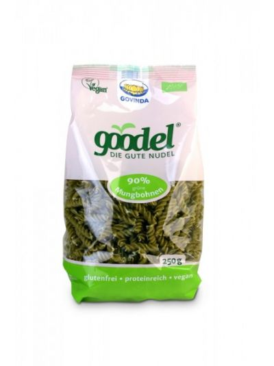 "Govinda Natur Goodel - Die gute Nudel ""Mungbohne - Leinsaat"" BIO 250g"