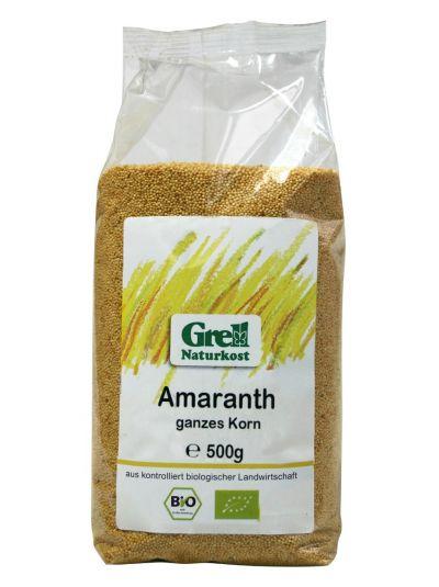 Grell Bio Amaranth Voll Korn 500g