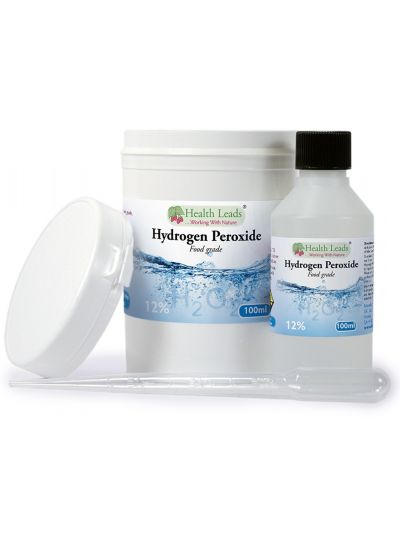 Health Leads Hydrogen peroxide (H2O2) 12% solution 100-500 ml