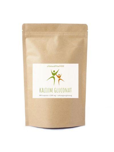 Vitalundfitmit100 Kalium Gluconat Kapseln 180 Stück à 500 mg
