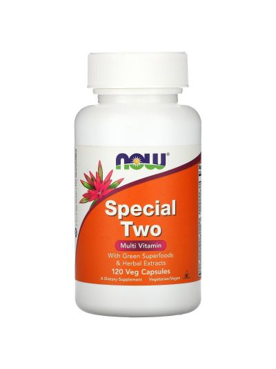 Now Foods Special Two Multi Vitamin 120 Vege capsules