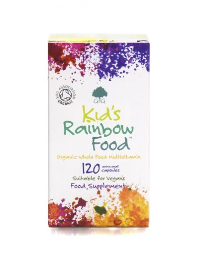 G&G VITAMINS KIDS RAINBOW FOOD BIO Vollkost MULTIVITAMIN 120 VEG. KAPSELN