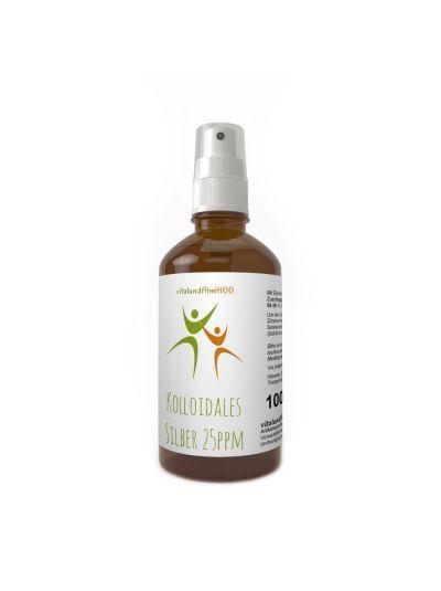 Vitalundfitmit100 Kolloidales Silber (Silberwasser) 100 ml, Spray