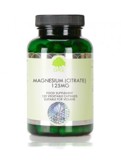 G&G Magnesium (Citrate) 125mg - 90 Capsules