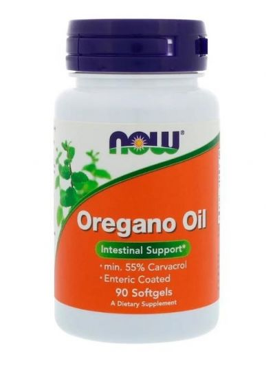 Now Foods Oregano-Öl 90 Softgels