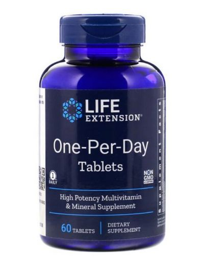 Life Extension One per Day 60 Tabletten