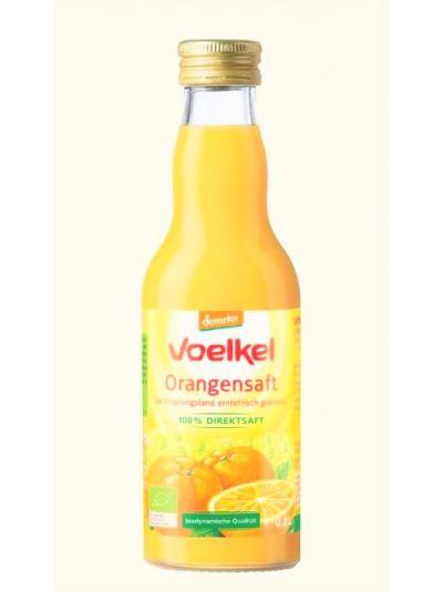 Voelkel Orangensaft im Ursprungsland erntefrisch gepresst 200 ml