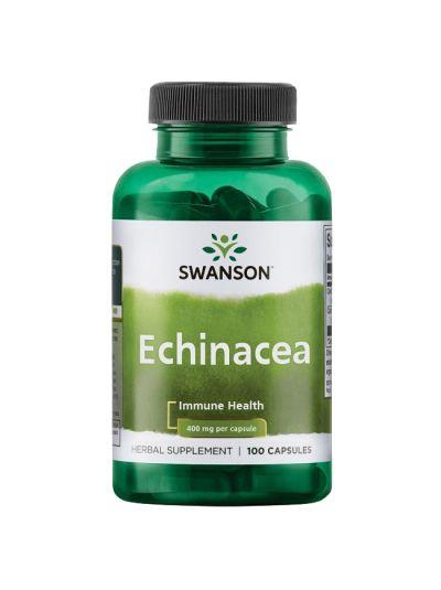 Swanson Echinacea, 400mg - 100 caps