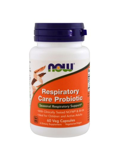 Now Foods Respiratory Care Probiotic 60 Veggie Caps