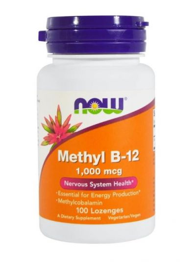 Now Foods, Methyl B 12, 1,000 mcg, 100 Lutschtabletten