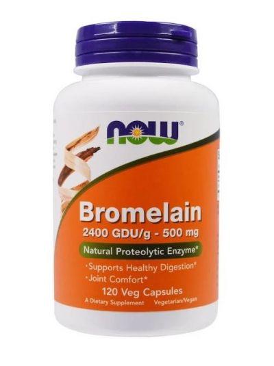 Now Foods Bromelain 500 mg 120 vegetarische Kapseln