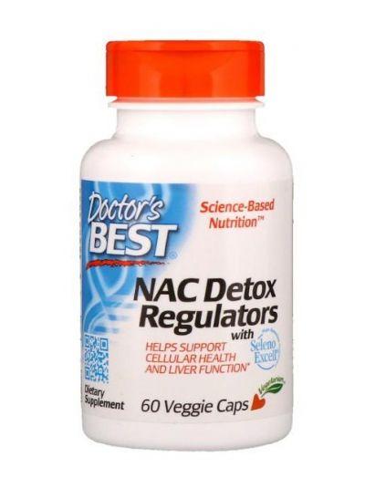 Doctor's Best NAC Detox-Regulatoren 60 Veggie Caps