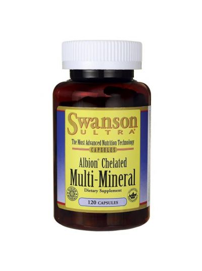 Swanson Albion Chelate / Elemantal Multi-Mineral Glycinate 120caps